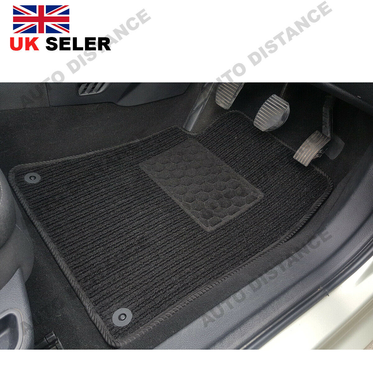 Tailored-Quality-Black-Carpet-Car-Mats-With-Heel-Pad-Nissan-Leaf-2014-2017