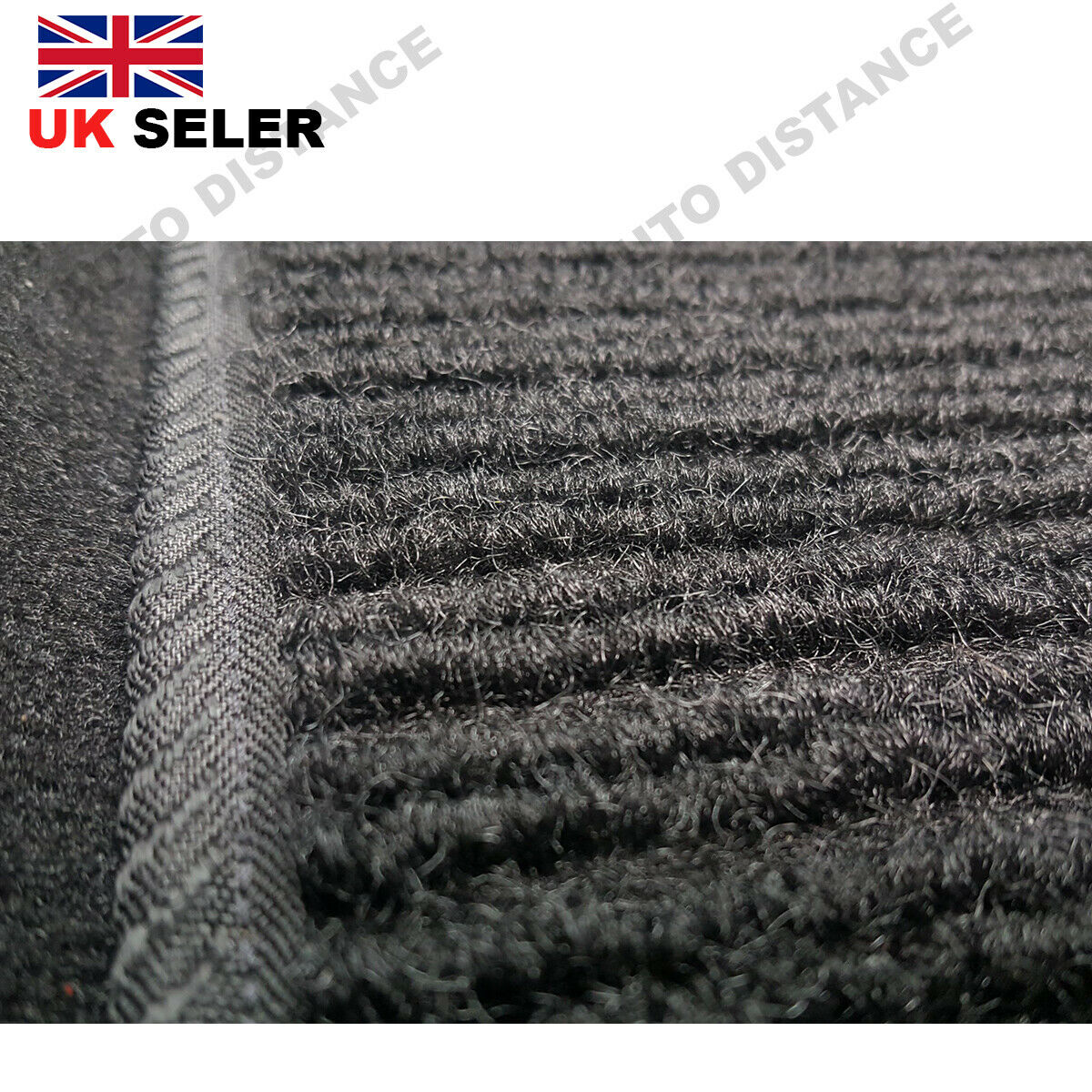 Tailored-Quality-Black-Carpet-Car-Mats-With-Heel-Pad-Nissan-Leaf-2014-2017 thumbnail 6