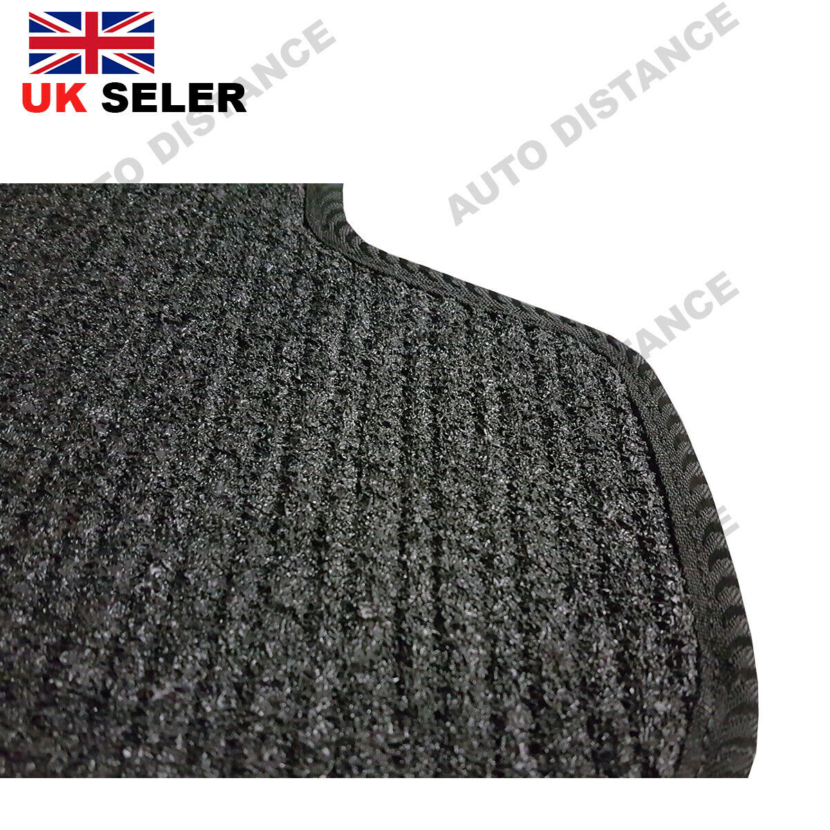 Tailored-Quality-Black-Carpet-Car-Mats-With-Heel-Pad-Nissan-Leaf-2014-2017 thumbnail 7